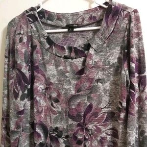 East 5th Top Blouse Mauve Purple Size S D12-E